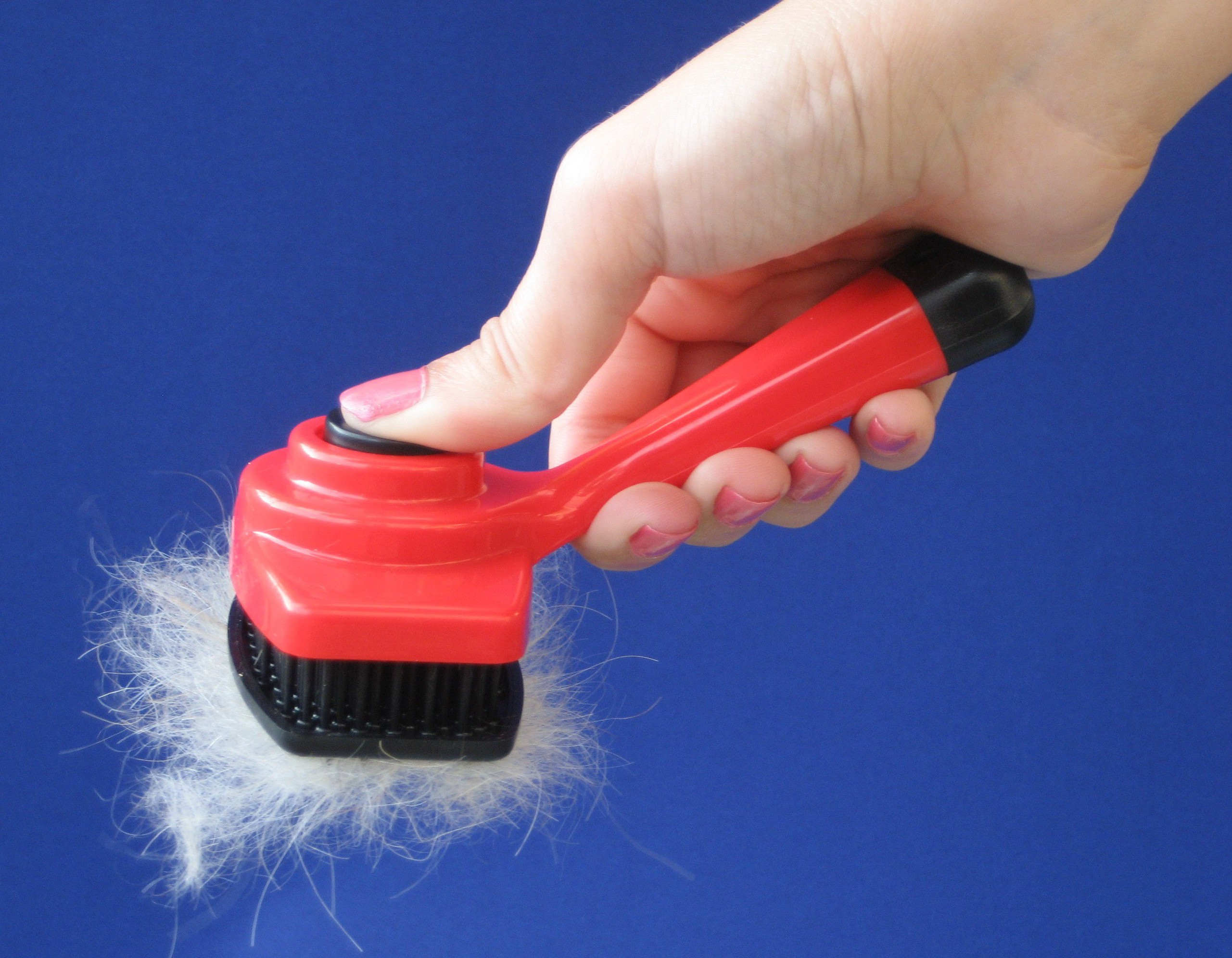 One Touch Pet Brush